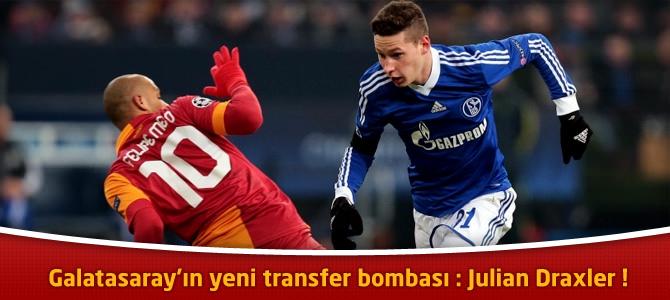 Galatasaray'ın yeni transfer bombası : Julian Draxler !
