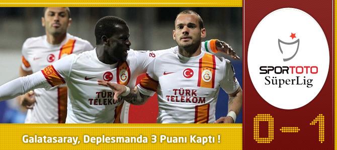 Kardemir Karabükspor 0 – 1 Galatasaray Geniş maç özeti