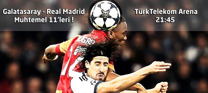 Galatasaray – Real Madrid Canlı maç özeti