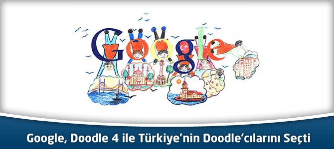 Google, Doodle 4 ile Türkiye'nin Doodle'cılarını Seçti