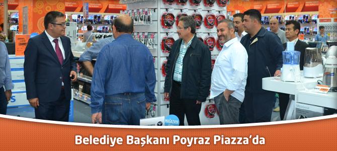 Belediye Başkanı Poyraz Kahramanmaraş Piazza AVM'de