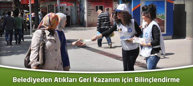 Kahramanmaraş Belediyesi'nden Atıkları Geri Kazanım için Bilinçlendirme