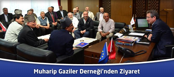 Muharip Gaziler Derneği'nden Kahramanmaraş Belediyesi'ne Ziyaret