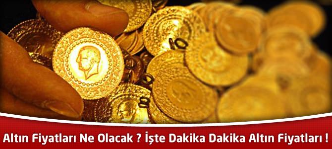 Çeyrek altın ne kadar ? Altın fiyatları ne olacak ?