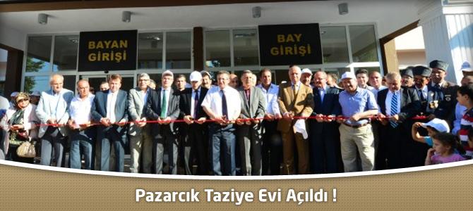 Pazarcık Taziye Evi Açıldı !