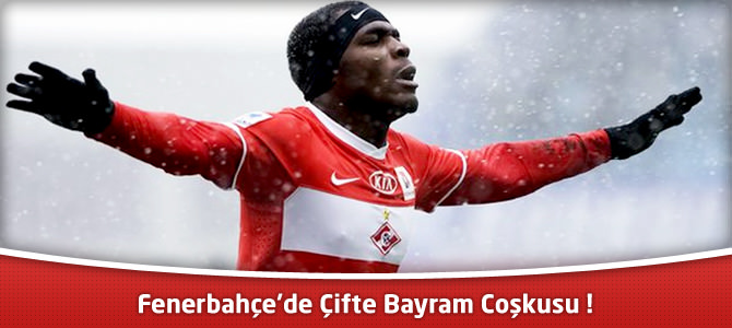 Fenerbahçe'nin transferi Emmanuel Emenike İstanbul'da !