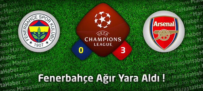 Fenerbahçe 0 – Arsenal 3 Maç özeti ve maçın golleri
