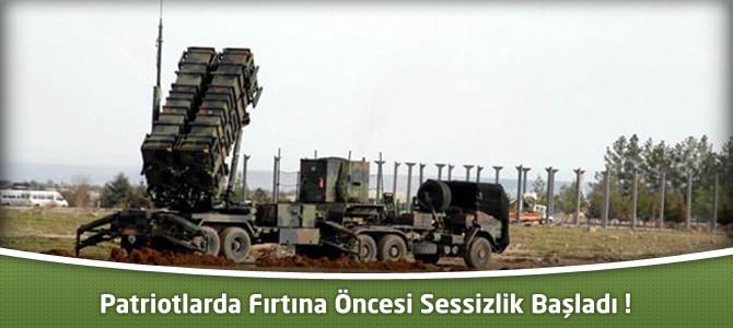Olası Saldırı için Kahramanmaraş'taki Patriotlar Hazır !
