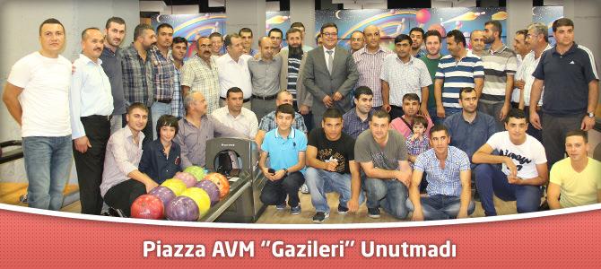 Kahramanmaraş Piazza AVM ''Gazileri'' unutmadı