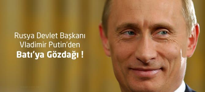 Rusya Devlet Başkanı Vladimir Putin'den Batı'ya Gözdağı