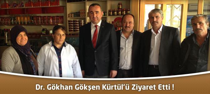 Oniki Şubat İlçe Belediye Başkan Adayı Dr. Gökhan Gökşen Kürtül'de