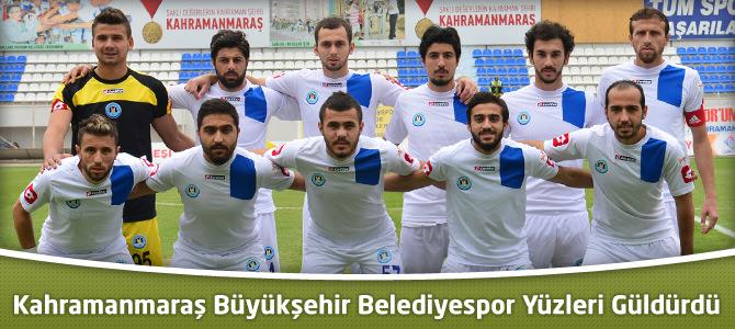 Kahramanmaraş Büyükşehir Belediyespor Yüzleri Güldürdü