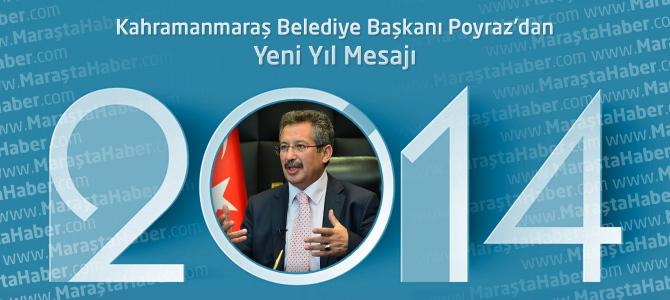 Belediye Başkanı Mustafa Poyraz'dan Yeni Yıl Mesajı