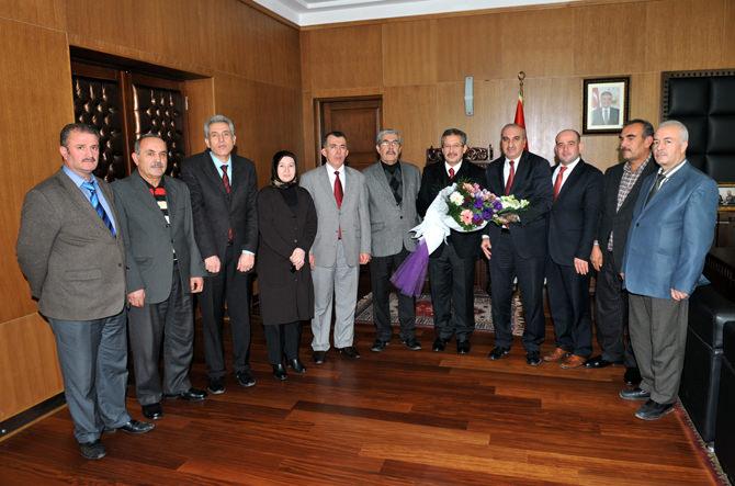 Hizmet-İş'ten Başkan Poyraz'a Ziyaret