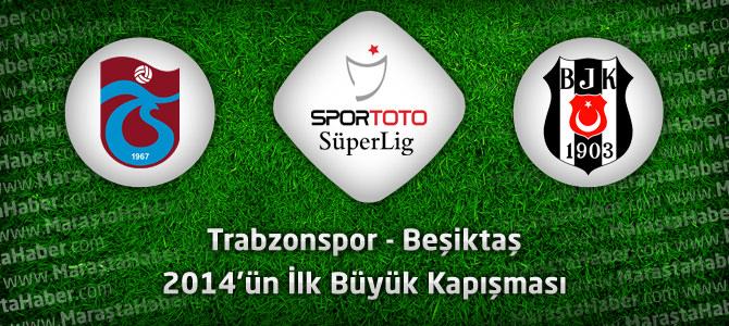 Trabzonspor 1 – Beşiktaş 1 geniş maç özeti ve maçın golleri