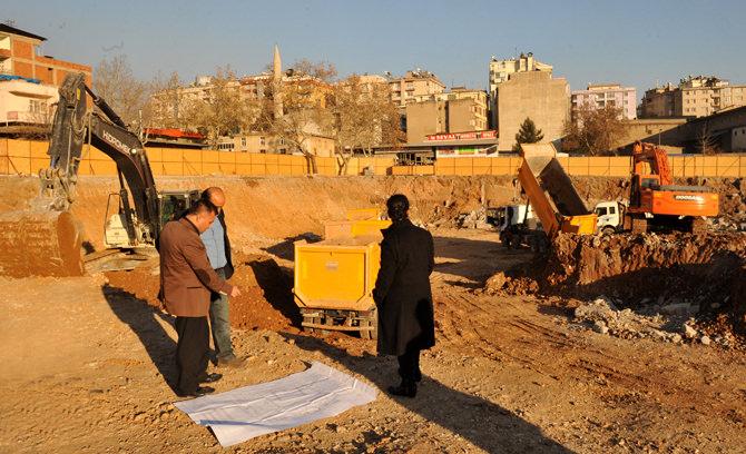 Kahramanmaraş Belediyesi Kültür Park Çalışmaları Devam Ediyor