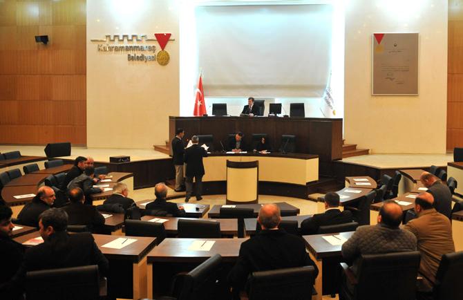 Kahramanmaraş Belediye Meclisi 21 Ocak'ta Toplanacak