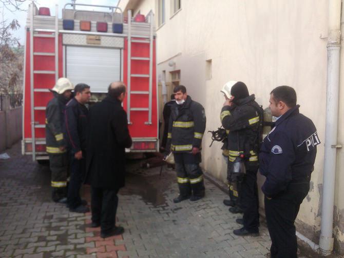 Migiboy Tekstil Fabrikası'nda Yangın Çıktı
