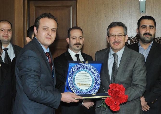 Katarder'den Başkan Poyraz'a Ziyaret