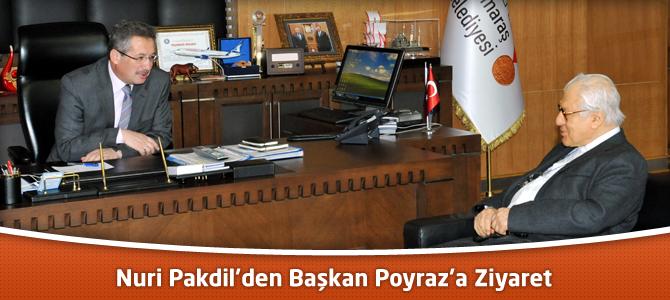 Nuri Pakdil'den Başkan Poyraz'a Ziyaret