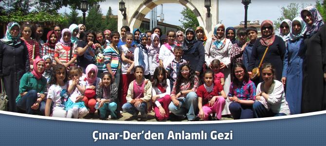 Çınar-Der'den Anlamlı Gezi