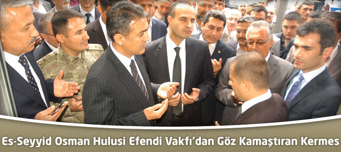 Es-Seyyid Osman Hulusi Efendi Vakfı'dan Göz Kamaştıran Kermes