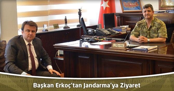 Başkan Erkoç'tan Jandarma'ya Ziyaret