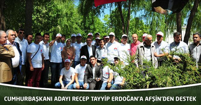 Cumhurbaşkanı Adayı Recep Tayyip Erdoğan'a Afşin'den Destek