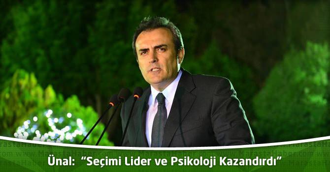 "AK Parti Grup Başkan Vekili Mahir Ünal:""Seçimi Lider ve Psikoloji Kazandırdı"""
