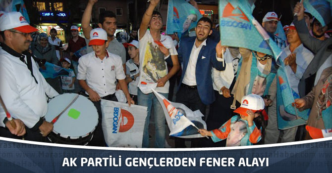 AK Partili Gençlerden Fener Alayı