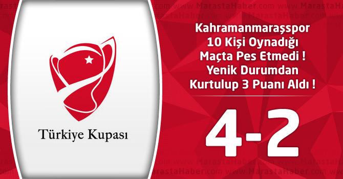 Kahramanmaraşspor 4 – 12 Bingölspor 2 Türkiye Kupası Maç Özeti ve Goller