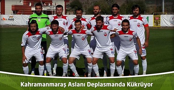 Kahramanmaraş Aslanı Kahramanmaraşspor Deplasmanda Kükrüyor