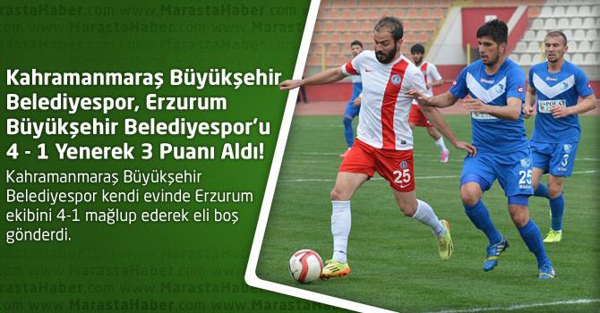 Kahramanmaraş Büyükşehir Belediyespor 4 – Erzurum Büyükşehir Belediyespor 1