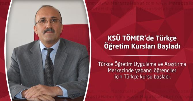 KSÜ TÖMER'de Türkçe Öğretim Kursları Başladı