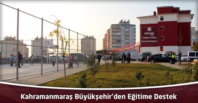 Kahramanmaraş Büyükşehir'den Eğitime Destek