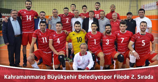 Kahramanmaraş Büyükşehir Belediyespor Filede 2. Sırada
