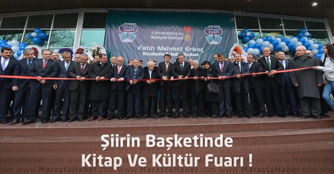 Kitap Ve Kültür Fuarı Kapılarını Kahramanmaraş'ta Açtı