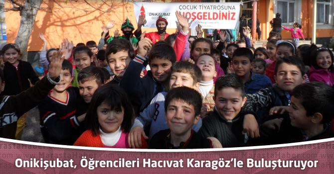 Onikişubat Belediyesi, İlkokul Öğrencilerini Hacıvat Karagöz'le Buluşturuyor
