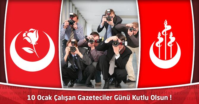 BBP ve Alperen Ocakları : 10 Ocak Çalışan Gazeteciler Günü Kutlu Olsun