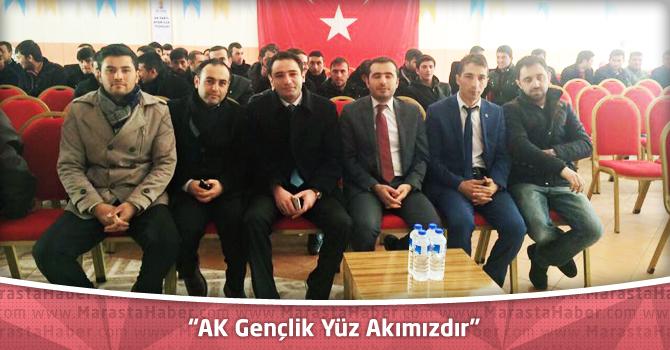 """AK Gençlik Yüz Akımızdır"""