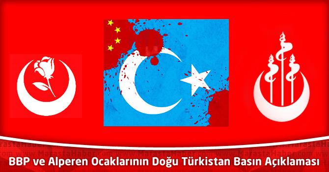 BBP ve Alperen Ocaklarının Doğu Türkistan Basın Açıklaması