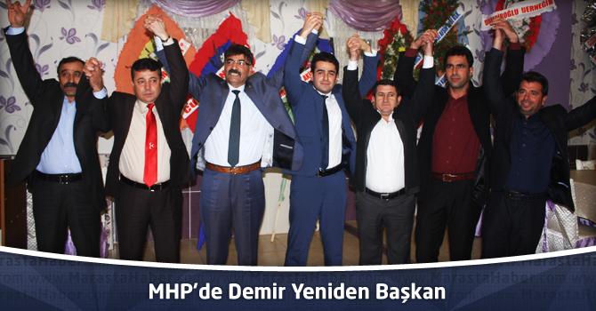 MHP'de Demir Yeniden Başkan