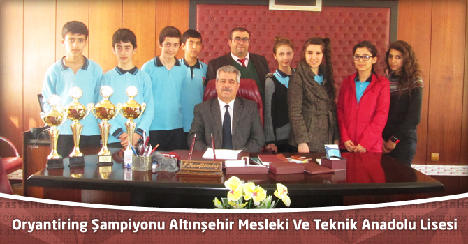 Kupa ve Madalya Avcısı Altınşehir Mesleki Ve Teknik Anadolu Lisesi