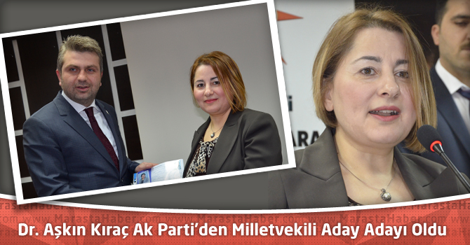 Dr. Aşkın Kıraç Ak Parti'den Milletvekili Aday Adayı Oldu