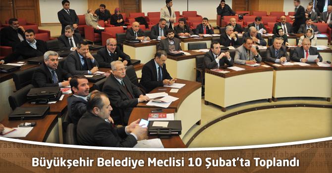 Kahramanmaraş Büyükşehir Belediye Meclisi 10 Şubat'ta Toplandı