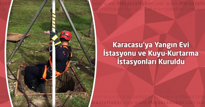 Karacasu'ya Yangın Evi İstasyonu Ve Kuyu-Kurtarma İstasyonları Kuruldu