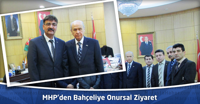 MHP'den Bahçeliye Onursal Ziyaret