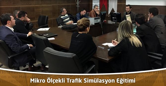Kahramanmaraş'ta Mikro Ölçekli Trafik Simülasyon Eğitimi