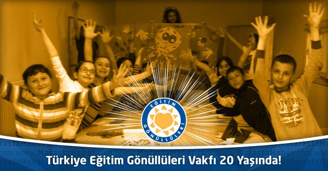 Türkiye Eğitim Gönüllüleri Vakfı 20 Yaşında!