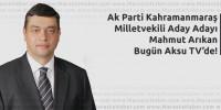 Arıkan Aksu Tv'de Gazetecilerin Sorularını Yanıtlıyor